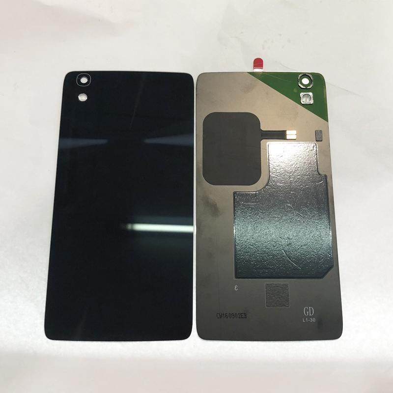 10pcs Original Glass Battery Door Back Cover Housing Case For Alcatel  Onetouch Idol 4 OT 6055 OT6055K 6055U OT-6055 With NFC