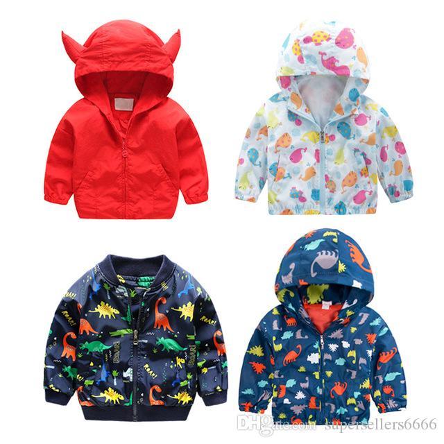 4881f5d5cc0b9 Acheter Enfants Veste Nouvelle Mode Imprimé Printemps Été Enfants ...