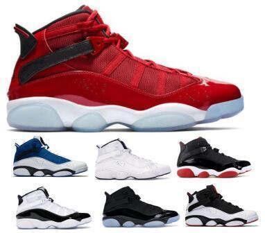 finest selection 9608b 7d032 6 6s Six Rings Basketball Shoes Sneakers Jumpman Concord Bred Yellow Ice  Gym Red Confetti Space Jam Mens Man 2019 Classic Baskets Shoes