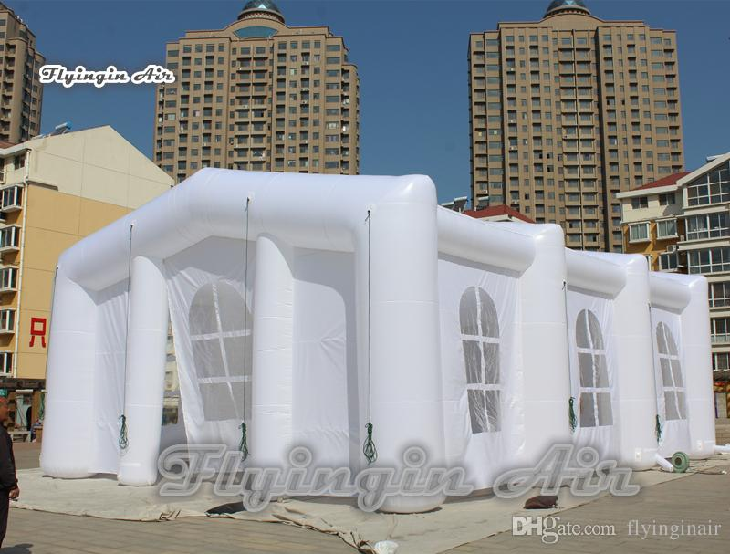 2019 Customized Inflatable Structure Blow Up White Frame White Pop
