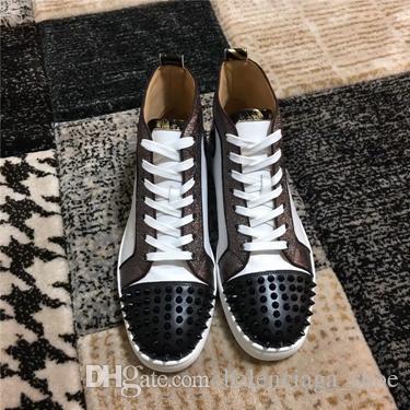 d3e6de8cc82a 2019 Newest Luxury Designer Red Bottoms Men Women Shoes Fashion ...