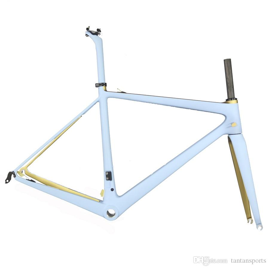 Super light Carbon Fiber road bike Frame,T1000 Bicycle Carbon Frame FM686   custom paint road frame