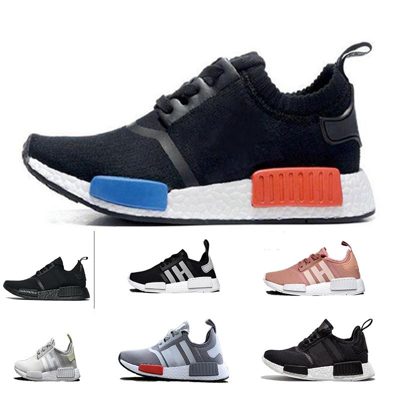 8af2ce8113450 pink red gray NMD Runner R1 Primeknit PK Low Men  s   Women  s shoes  Classic Fashion Sport Shoes