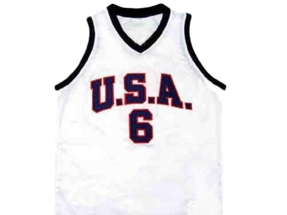 super popular 06dc2 516cf CUSTOM Lebron James #6 1992 Dream Team New Basketball Jersey White Stitched  Custom any number name MEN WOMEN YOUTH BASKETBALL JERSEYS
