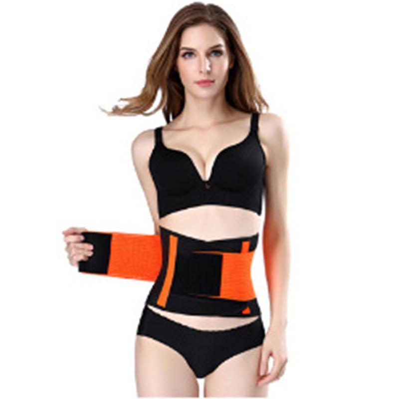 56751c7ea5f Men And Women Spandex Lumbar Waist Support Waist Trimmer Belt Unisex ...