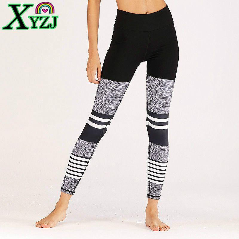 970c77313 Compre Leggings Mulheres Push Up Leggings De Fitness Patchwork Elastic  Legging Cintura Alta Roupas De Ginástica Plus Size Mulher Calças Esportivas  De Xyzj