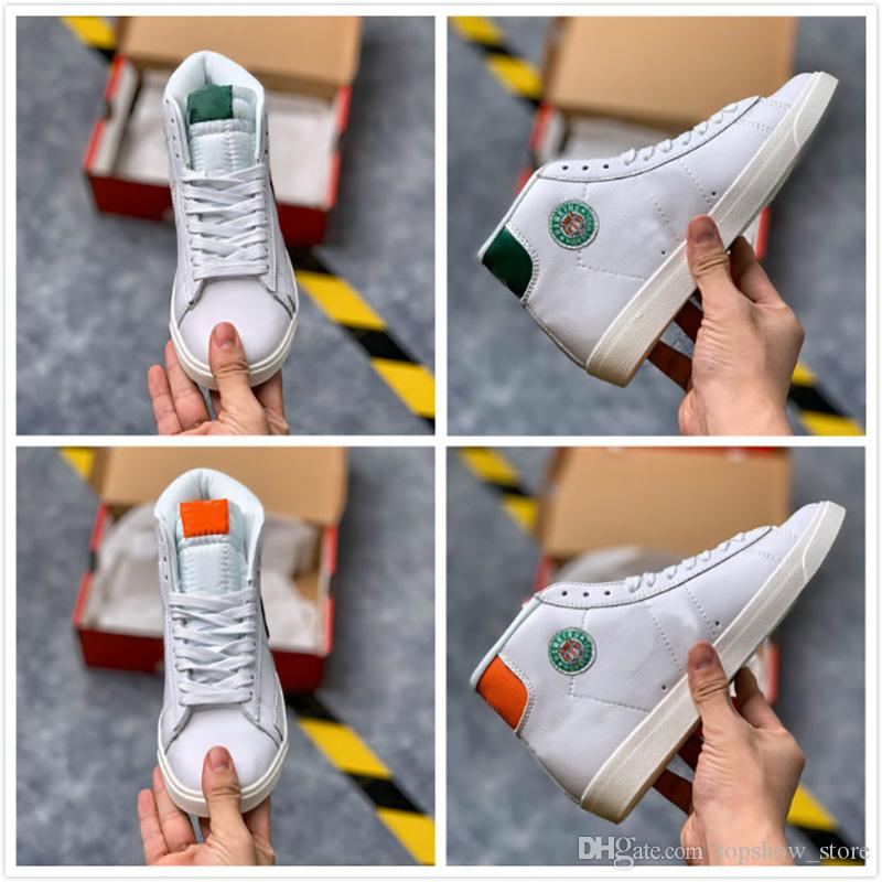2019 Blazer Mid x Hawkins High School Sport Shoes Stranger Things Basketball Shoes for Men Designer Sneakers Hot Sale Trainers