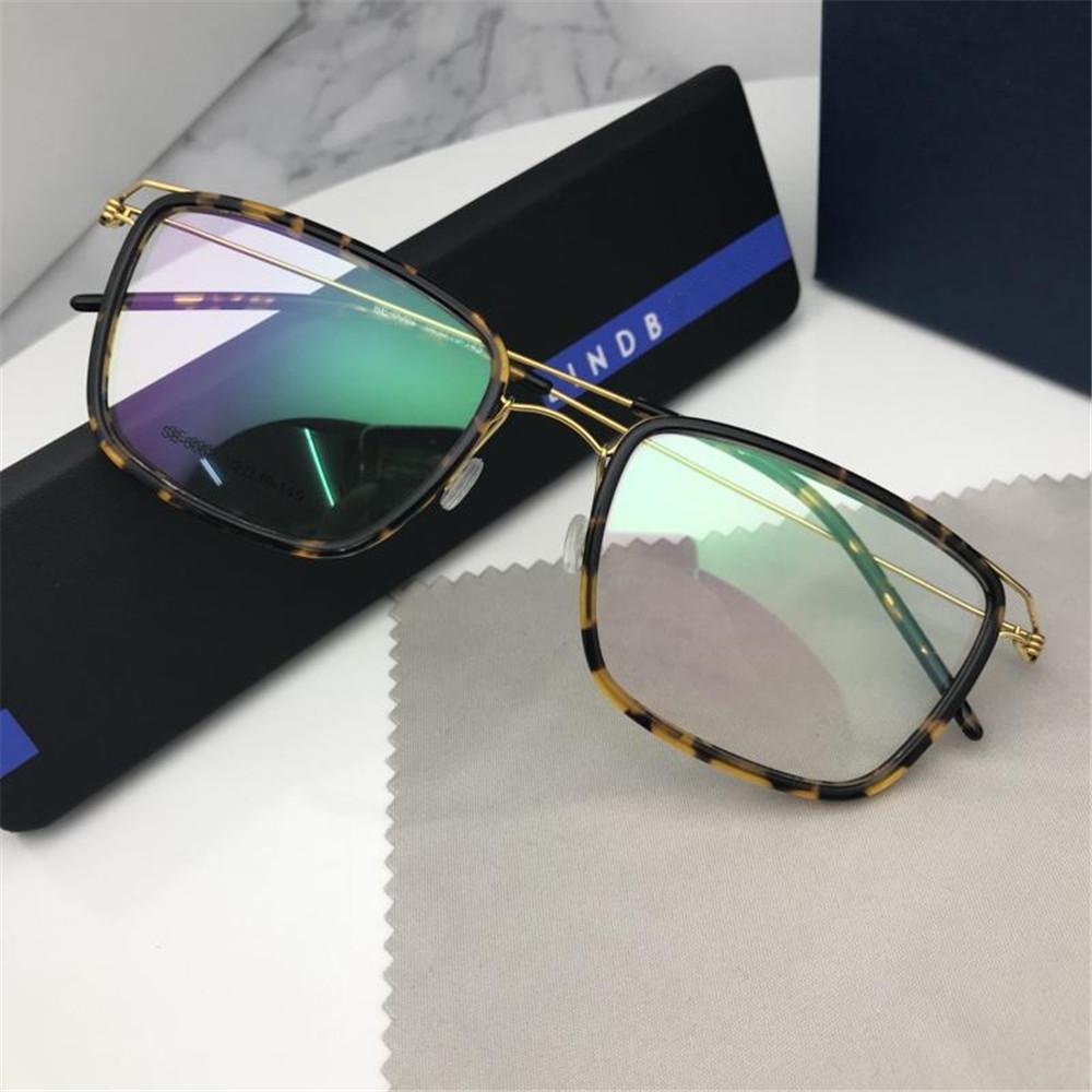 4404aa841961 2019 2019 New Luxury Vintage Glasses Famous Designer Brand Rectangle Myopia  Eyewear Frame High Quality Titanium Short Sight Eyeglasses With Box From ...
