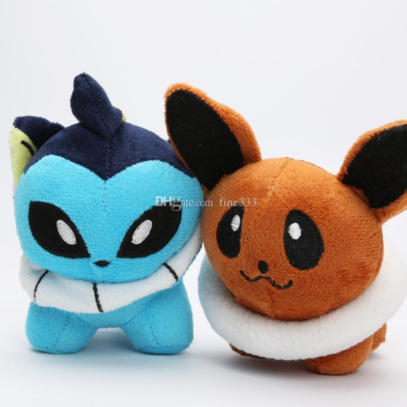 Pokemons Plush Toys Stuffed Dolls Umbreon Pikachu Eevee Toys Espeon Jolteon Vaporeon Flareon Glaceon Animals Stuffed Dolls OTH567