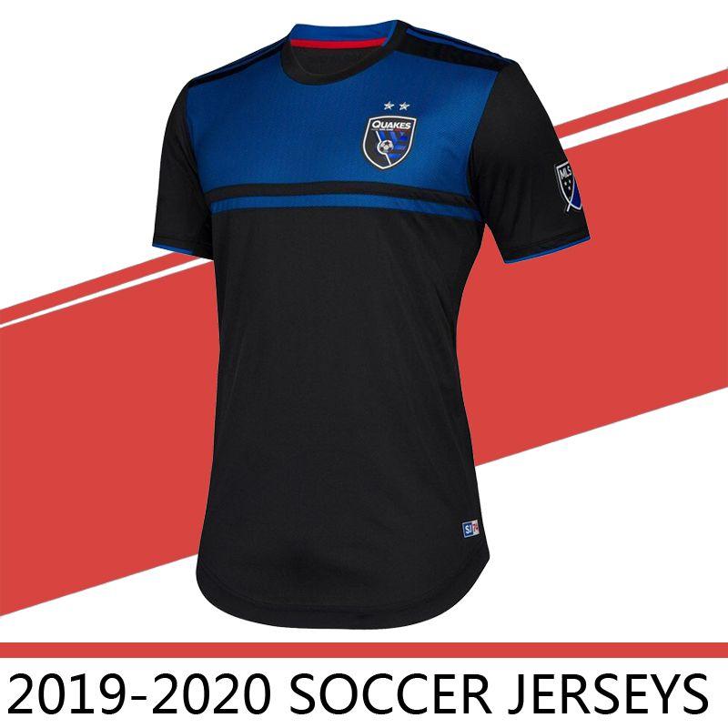 the latest 14994 e4961 2019 2020 MLS Men s San Jose Earthquakes home Soccer Jerseys Football Shirt  19/20 Wondolowski HOESEN LIMA Soccer jerseys Football Shirts