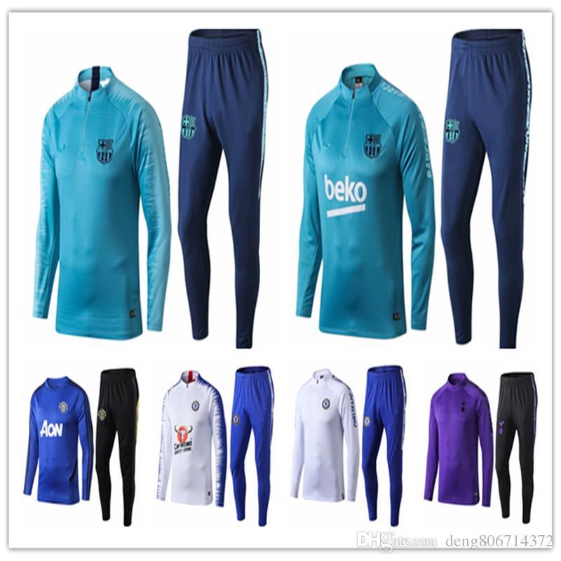 new products f2fe4 d5e4a 2019 -20 PSG tracksuit 19 -20 aj Paris MBAPPE psg long sleeve training suit  Football jacket kit Training suit uniform chandal