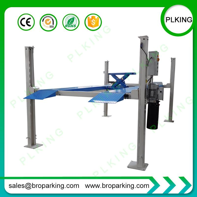 ISO CE Approved Hot Sale 4 Post Car Parking Lift Rack