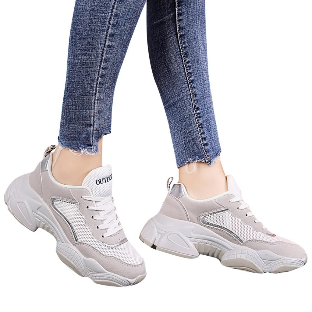 22c1a3307 Compre SAGACE Mulheres Sapatos 2019 Nova Moda Das Mulheres Malha ...