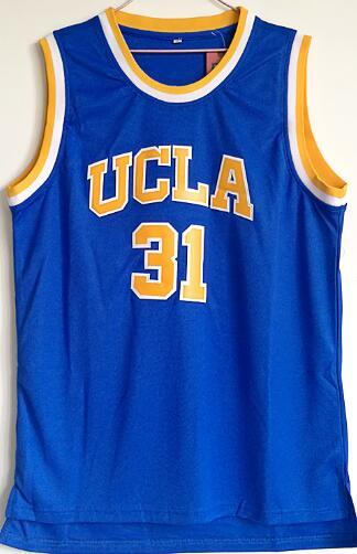 timeless design 497ea 786f1 supply mesh ucla 31 basketball jersey men s size Reggie Miller UCLA  basketball jersey wholesale price free shipping