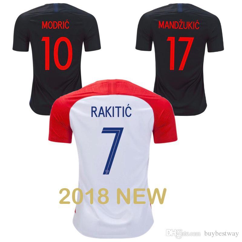 Soccer Jersey Sets World Cup Hrvatska MODRIC MANDZUKIC RAKITIC ... bffb19b0c