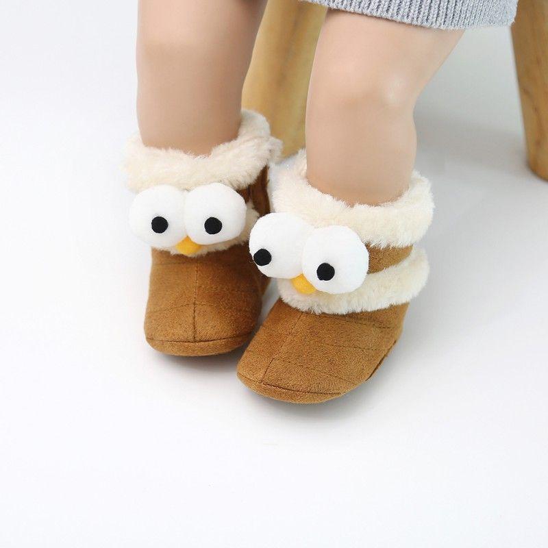27b9bbe39 Chaussures pour bébé Bottes de bébé mignonnes Automne Hiver Enfants Bottes  pour bébés Cartoon