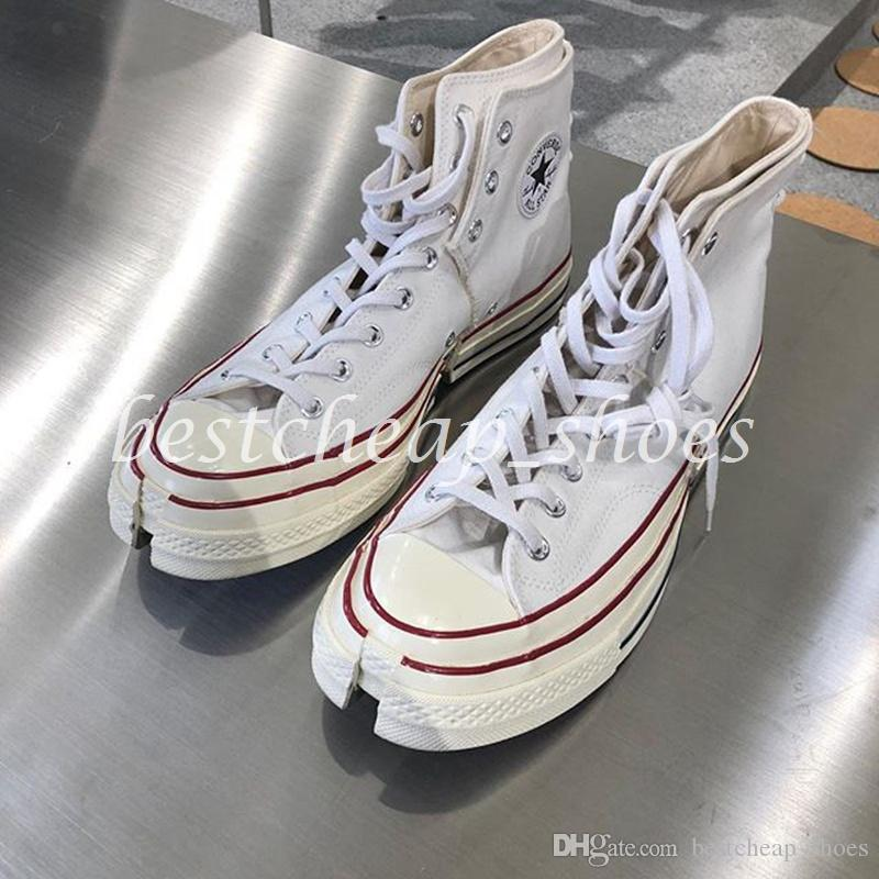 new product d504b c72c9 Limitado FengChenWang X Chuck 70 One Star 1970s Deconstruction Hombres  Casual Zapatos De Lona Skate Para Mujer Diseñador Zapatillas De Deporte  Tamaño 36 44 ...