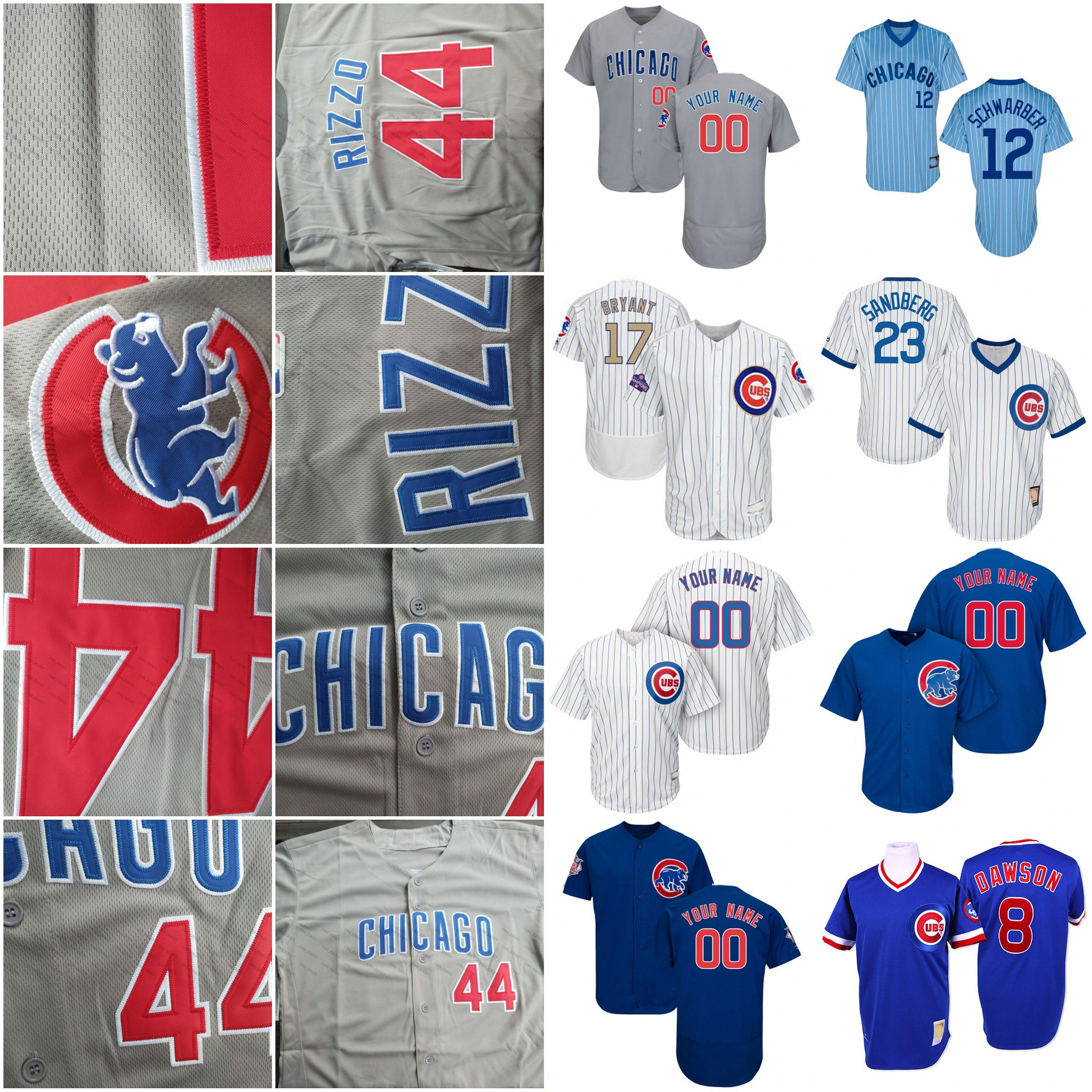 online store a05b2 ecee3 2019 Cubs Jersey Chicago 56 Kyle Ryan 12 Kyle Schwarber 46 Pedro Strop 61  Allen Webster Mark Zagunis 18 Ben Zobrist Baseball Men Women Youth