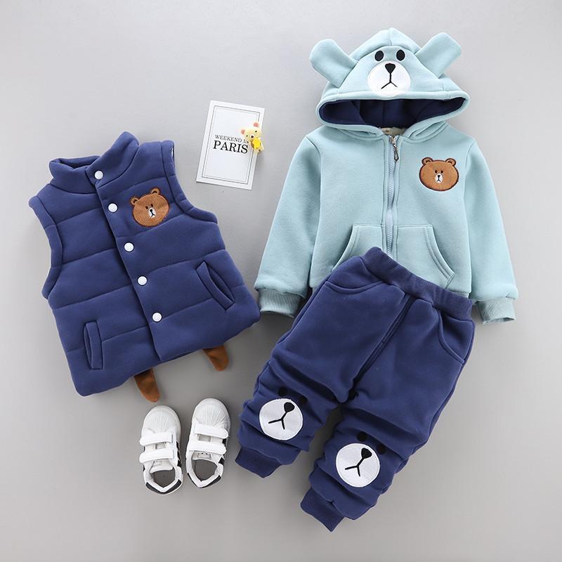 8b744703c667 2019 0 4 Years Winter Boy Girl Clothing Set 2019 New Casual Fashion ...