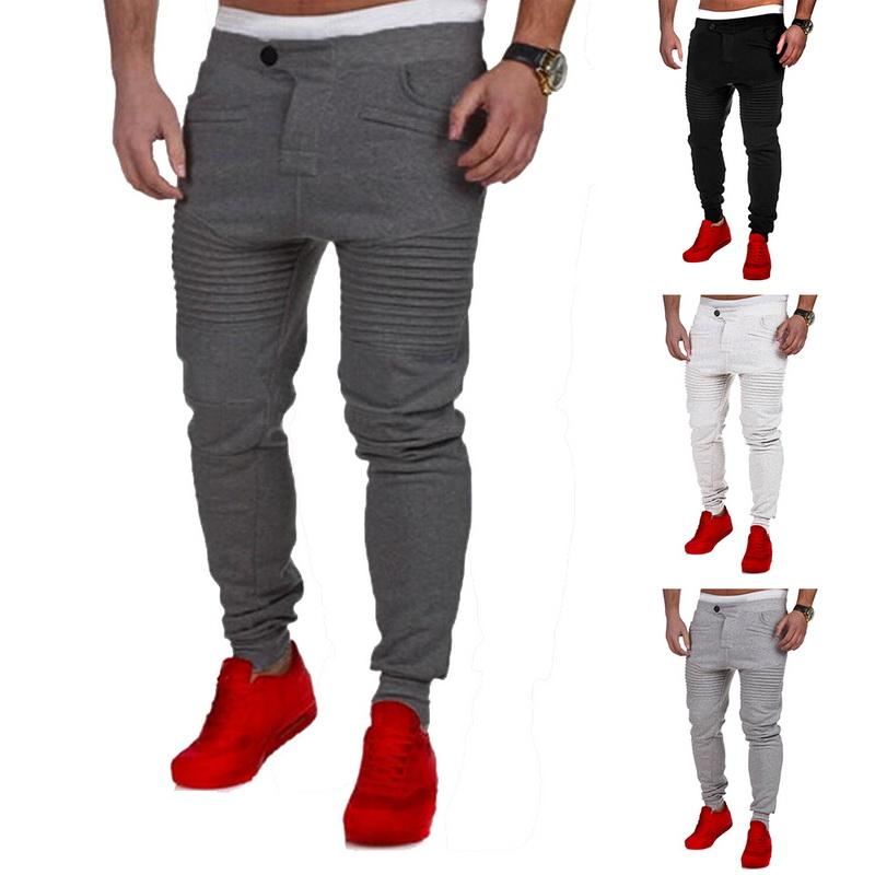 54c864fe5aecfd 2019 Laamei 2019 New Spring Fashion Men Jogger Sportwear Baggy Casual Harem  Skinny Pants Slacks Dance Trousers Sweatpants Hot S 3XL From Xianfeiyu