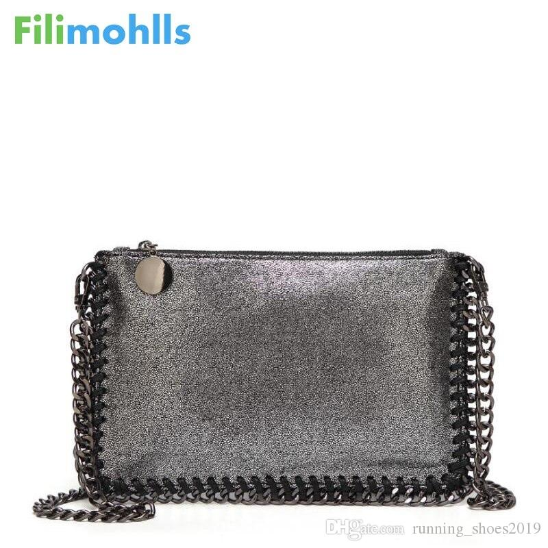 2019 Fashion Woven Chain Bag Shoulder Bag for Women Clutches PU Messenger Small Clutch purse Bolsa Handbags wallet S1227 #92753