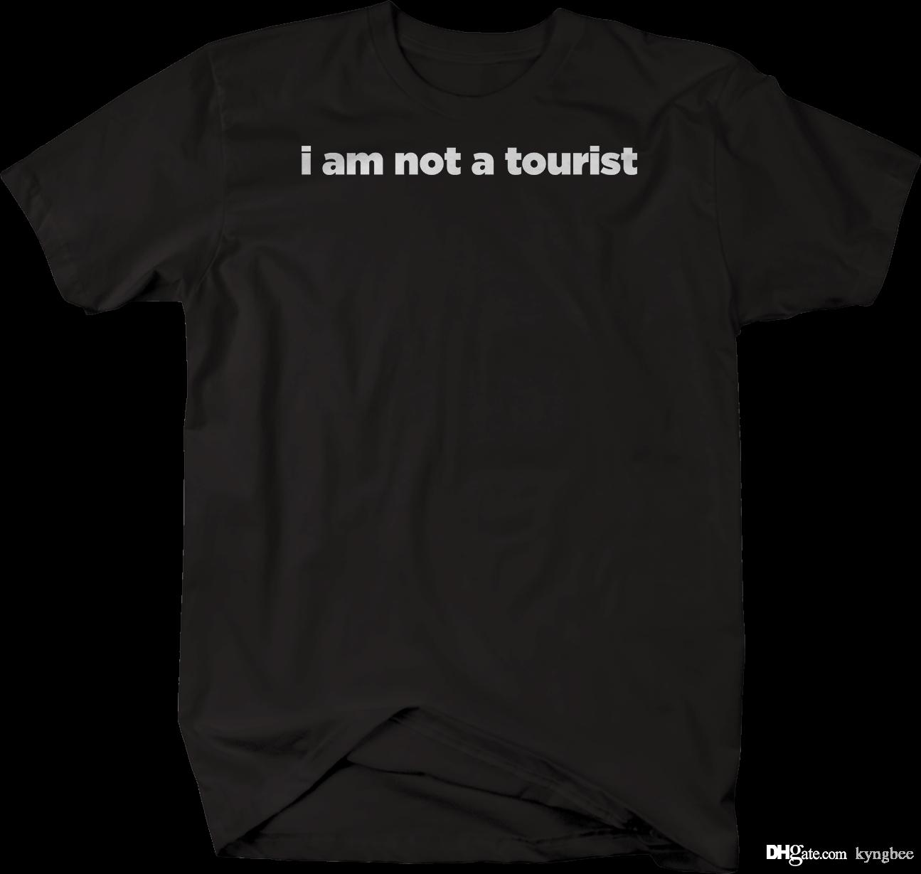 fc7ba52848 I am Not a Tourist Native Funny Vacation Tshirt