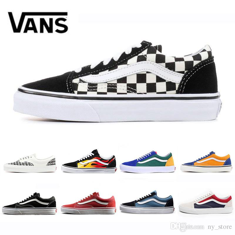 scarpe vans old skool flame