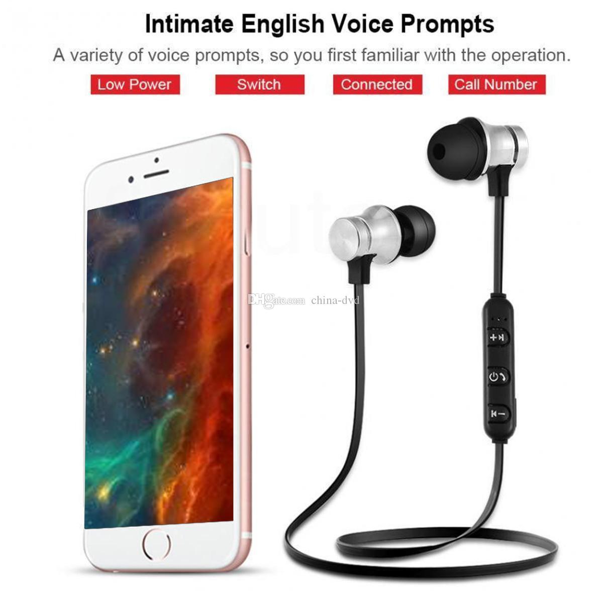 Hot XT11 Bluetooth Headphones Wireless Sport Earphones Headsets BT 4.2 with Mic MP3 Earbud For Phone LG Smartphones with Retail Box