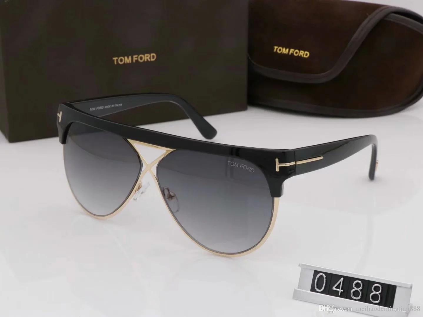 bae68ede7b Compre Calidad Superior Nueva Moda Gafas De Sol Para Hombre Hombre Mujer  Gafas Diseñador Gafas De Sol Ford Lentes Con Caja A $10.16 Del  Meihaodemingtian888 ...