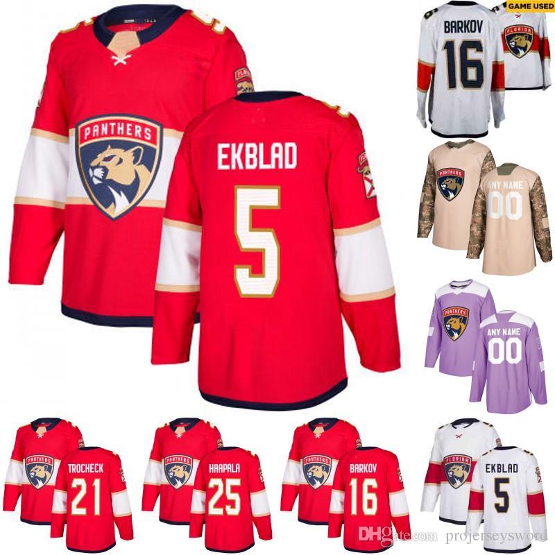 Florida Panthers Jersey 5 Aaron Ekblad 1 Roberto Luongo 16 ... 37a126734