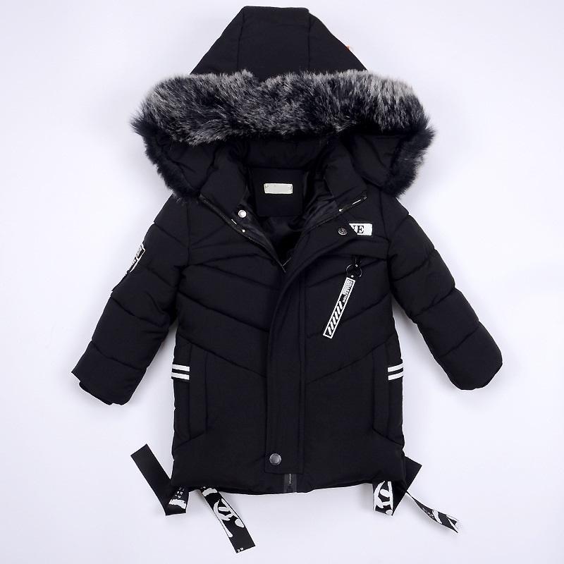 9cad94d0ea40 Winter Jackets For Boys Warm Coat Kids Clothes Snowsuit Outerwear ...