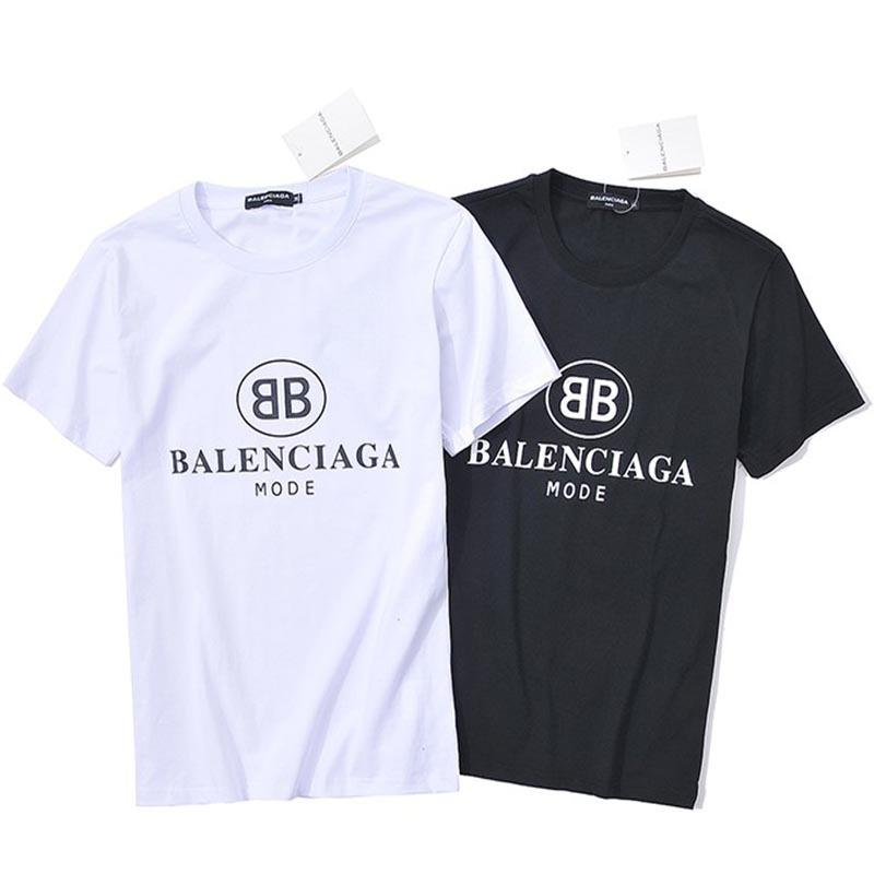 85d05ed75d BB Letter Short Sleeve Men And Women Loose Simple T Shirt Word Mother Print  Half Sleeve New Style T Shirt Awesome Shirt Design From Xmlgq83, $50.77|  DHgate.