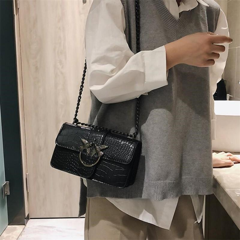 6ccc86e275 Designer Bags Famous Brand Women Bags 2019 Fashion PU Leather Messenger  HandBags Red Black Crossbody Bags For Women Bolsos Mujer Cheap Designer Bags  Mens ...