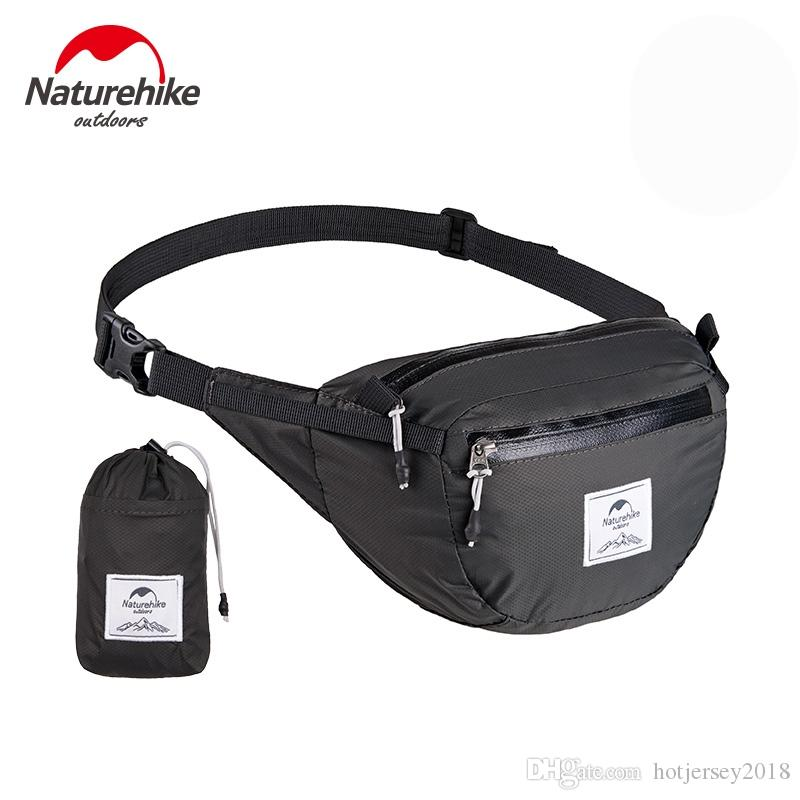 35a10531fbba NatureHike Waterproof Nylon Waist Bag Fanny Pack GYM Sport Hiking Travel  Waist Bag for Cycling Camping Hiking Hunting Fishing #234914