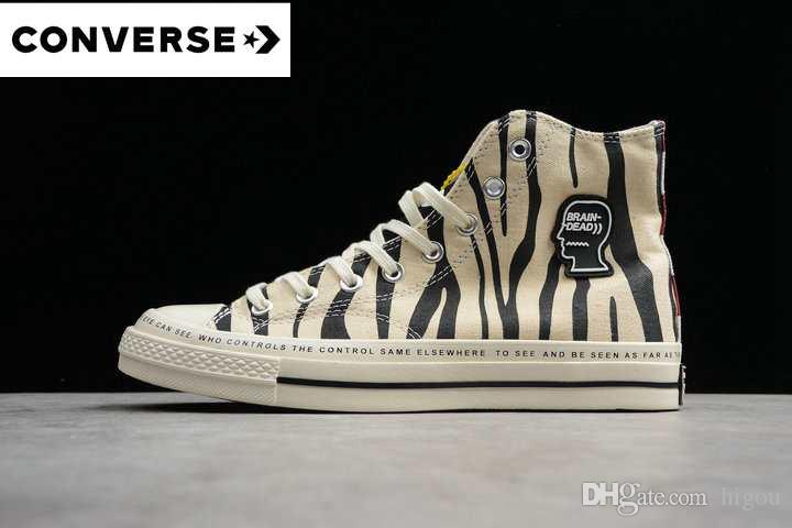 Converse Blanc 1970 Toile 2019 Années Chaussures Dead Acheter Brain TkXOuPZi