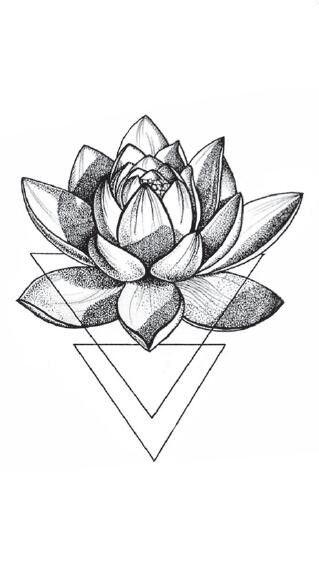 Impermeable Falso Tatuaje Temporal Pegatinas 3d Geometrico Triangulo