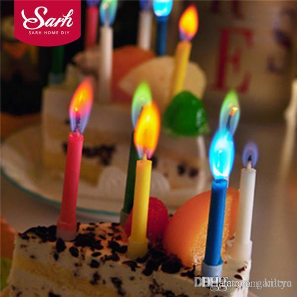 2018 Wholesale Cake Party Birthday Festival Supplies Colorful Lovely Candles For Kitchen Baking Gifts PD201 From Kiltye 3249
