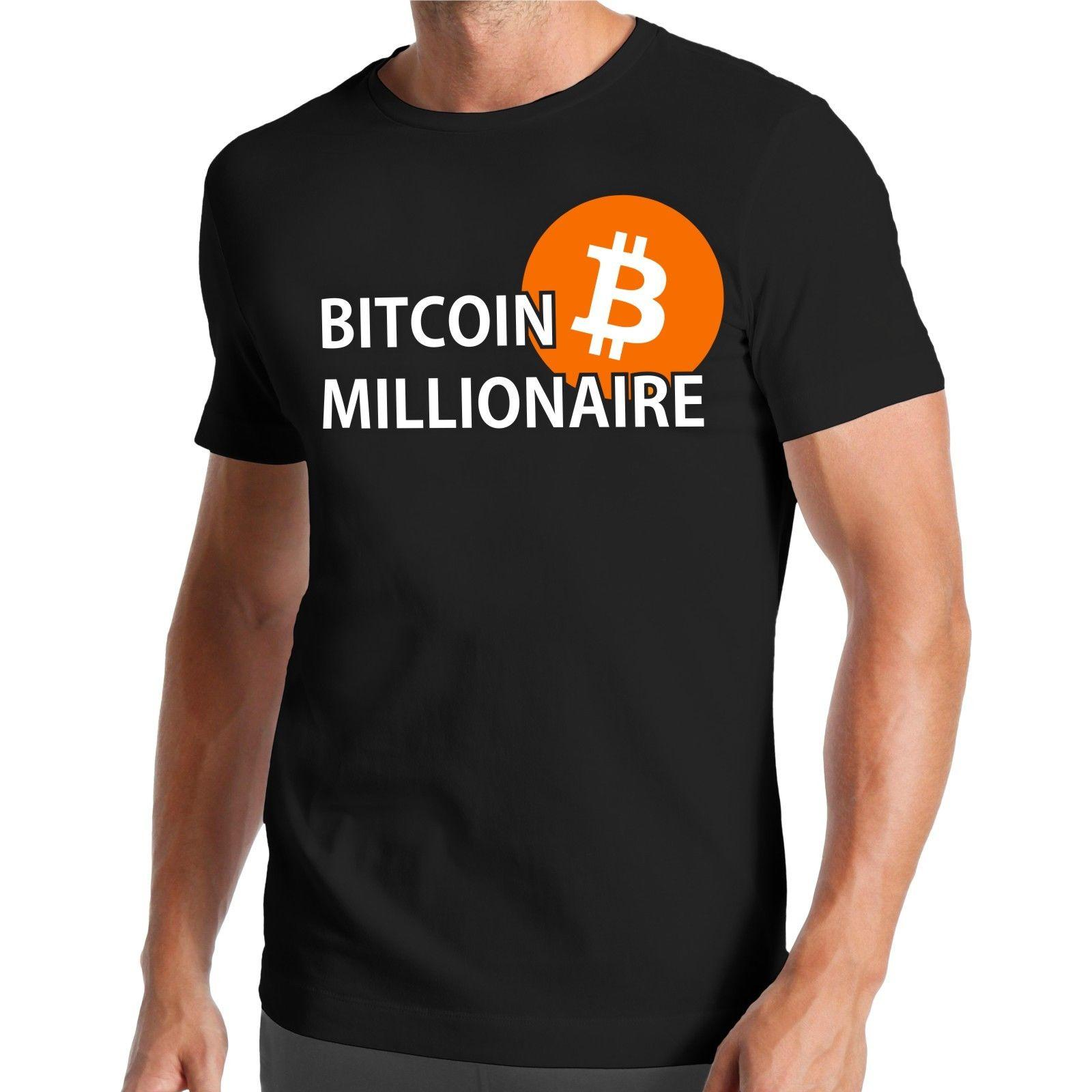 acdaddbf Bitcoin Millionaire T Shirt Millionär Börse Stock Exchange Krypto Crypto  Funny Unisex Casual Tshirt Denim Shirts Design T Shirts From  Sillyboytshirts, ...