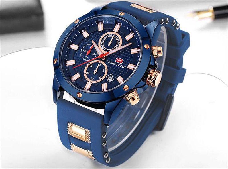 a5648b9fe93 Compre MINI FOCO Relógio De Pulso Dos Homens Top Marca De Luxo Famoso  Relógio Masculino Relógio De Quartzo Relógio De Pulso De Quartzo Relógio  Relogio ...