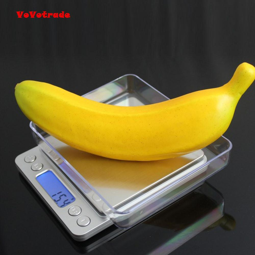 Practical Household 0 1Gram Precision Jewelry Electronic Digital Balance  Weight Pocket Scale 2000g Accurate weighing New D19011702