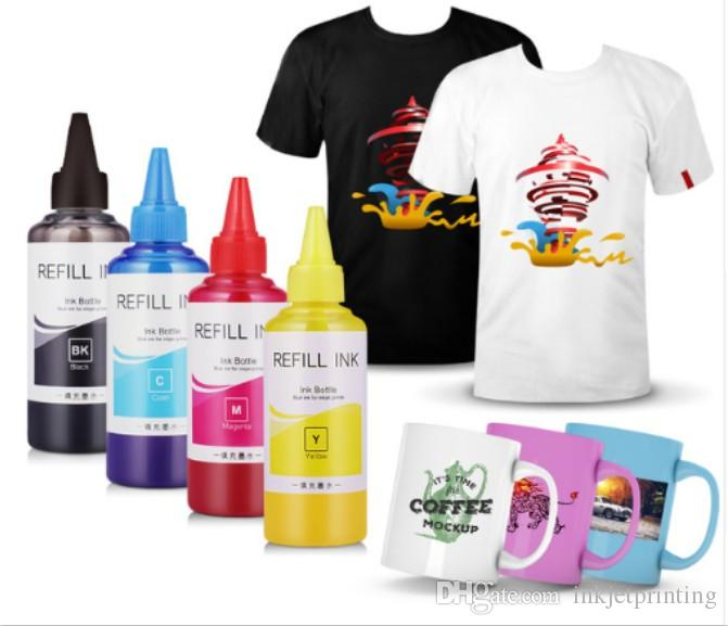 400ML Universal Sublimation Ink For Epson Inkjet Printers Heat Transfer Ink  Heat Press Sublimation Ink Used For Mug Cup/T-Shirt