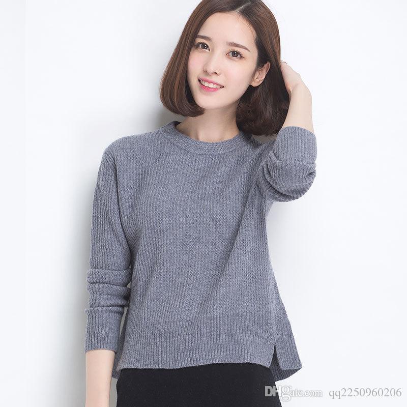 size 40 f1f98 6f8b6 Maglione pullover di cashmere in cashmere moda inverno 2015 nuova moda  maglione di cachemire di Zuo Kayi