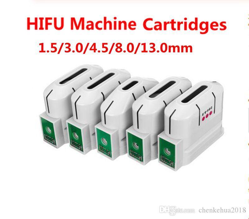 HIFU 기계 교체 카트리지 고강도 집중 초음파 얼굴 리프팅 주름 제거 바디 슬리밍을위한 10000 샷