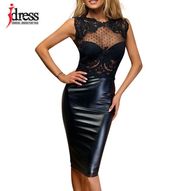 01d04a15fae Idress summer latex new robe femme sexy sheer lace dress jpg 800x800 Robe  latex