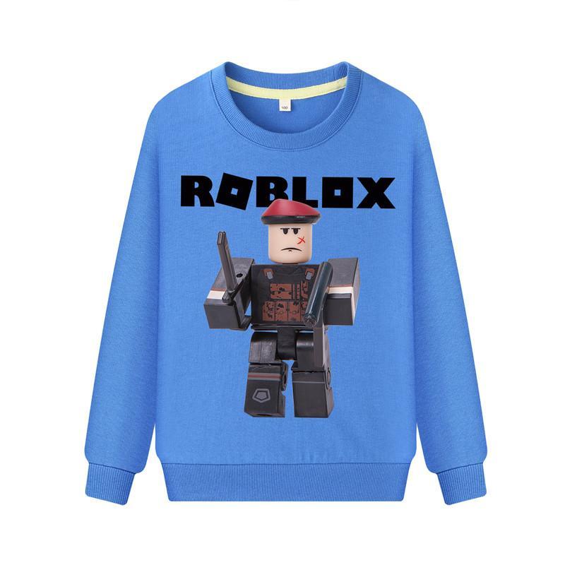 78e09b22967e 2019 Kids Roblox Game Print Hoodies Children Spring Clothing Boys Full  Sleeve O Neck Sweatshirts Girls Pullover Coat Clothes DZ067 From Cornemiu
