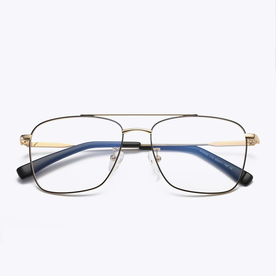 9689b14f82 Cubojue Eyeglasses Frame Men Double Bridge Square Glasses Man Nerd ...