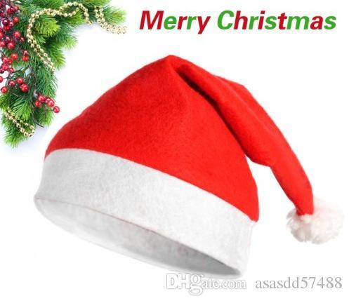 Compre Fabricantes Modelos Promocionais Novos Chapéus De Natal Férias Pai  Filho Chapéu Santa Chapéus Chapéus De Natal Comuns Natal Suprimentos De ... 57b4e9f43ee