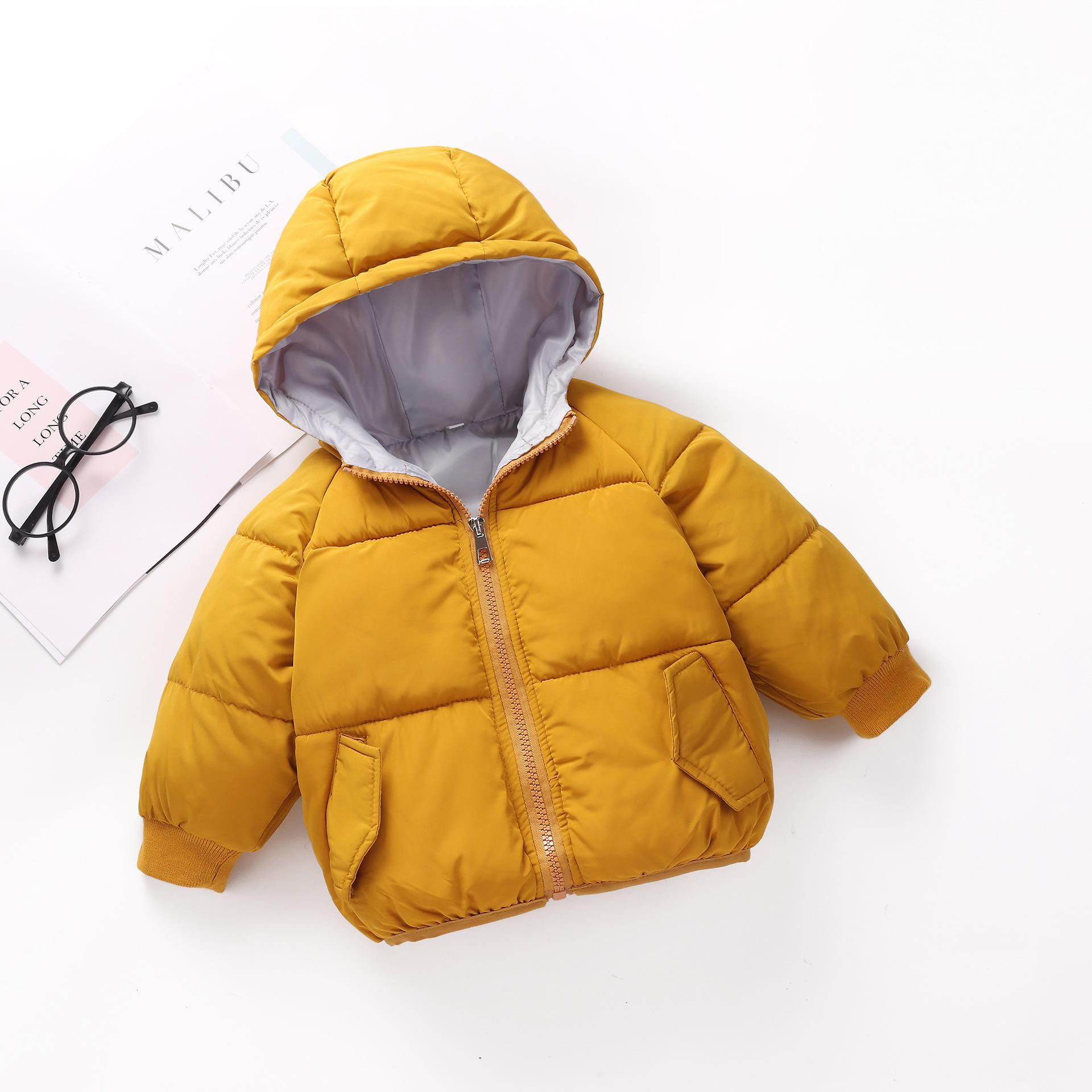 09eea4fa6 Good Quality Boys Winter Jackets 2019 Cotton Hooded Sports Coats ...
