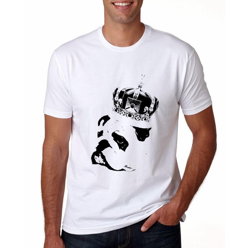 9f2c8cf3de New Arrival Funny Animals T Shirt Men Flamingo/English Bulldog/Cat T Shirts  Casual Fitness Short Sleeve Tops Tee Funky Tshirts T Sirt From Jigsaw, ...
