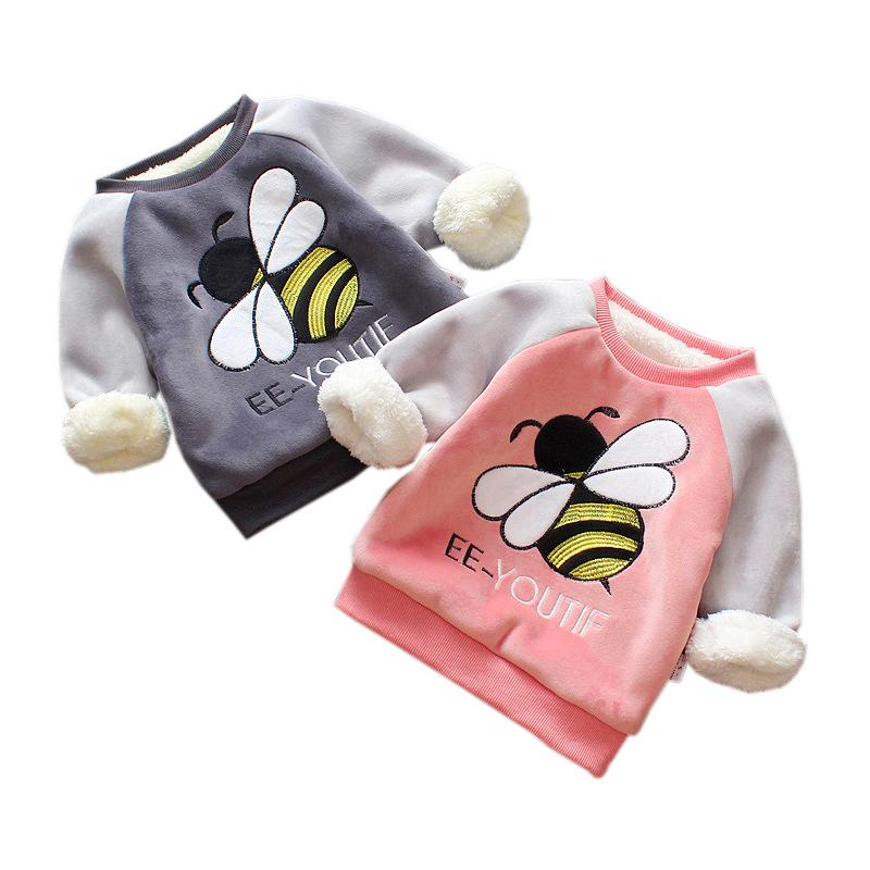new baby autumn clothes children clothing boys girls outwear kids winter hoodies full sleeve Unisex Sweatshirts